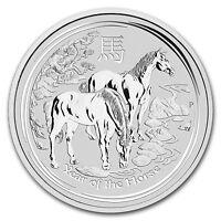2014 5 oz Silver Australian Year of the Horse Coin Bullion Australia