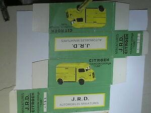 REPLIQUE BOITE CITROEN TUB HY / JOUETS JRD 1959
