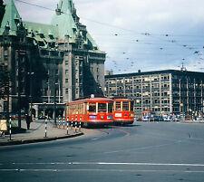Rare 1948 Ottawa Canada Parliament Trolley Photograph 8x12 print