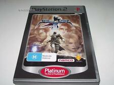 Soulcalibur III PS2 (Platinum) PAL Preloved *Complete* Soul Calibur 3