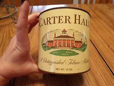 Vtg Carter Hall Tabacco Can