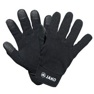 Jako Feldspielerhandschuhe Fleece Handschuhe Kinder + Erwachsene Schwarz 1232-08