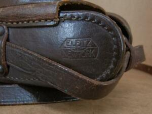 Leitz New York Ever-Ready Case 1/4'' Thread Leica IIc / IIIc / IIf / IIIf