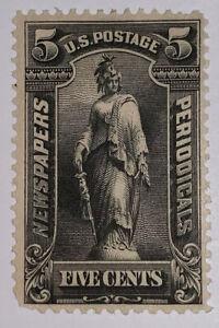 Travelstamps: US Stamps Scott # PR116 5 Cents Newspaper Stamp Mint MOGH