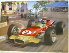 Lotus photographie couleur michael turner from motor magazine 14th dec 1986 formule 1
