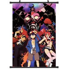Hot Anime Simon Tengen Toppa Gurren Lagann Wall Poster Scroll Cosplay 2832