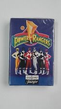 Baraja de Cartas Power Rangers Fournier, naipes, catetos PRECINTADA cuartetos