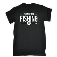 Fishing Kids Childrens T-Shirt Funny tee TShirt - Id Rather Be Fishing
