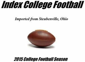 Index College Football (2015 Season)