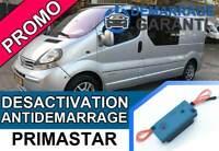 Clé de désactivation d'anti démarrage Nissan PRIMASTAR
