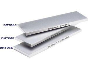 DMT DMTDMTD6F Dia-Sharp Diamond Fine Grit Knife Tool Sharpener Bench Stone