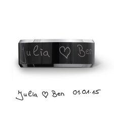 Unisex Modeschmuck-Ringe im Ehering-Stil aus Wolfram