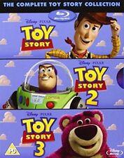 TOY STORY TRILOGY [Blu-Ray Box Set] Complete 1, 2, 3, Disney  Pixar All 3 Movies
