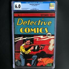 Detective Comics #7 (Dc 1937) 💥 Cgc 6.0 💥 Only 3 Higher! Pre Batman