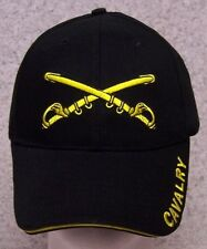 Embroidered Baseball Cap Military Army Cavalry Swords NEW 1 hat size fits all