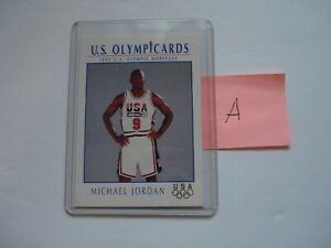 1992 OLYMPICARDS  Michael Jordan Card #12 PACK FRESH (A)