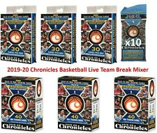 Chicago Bulls Live Team Break 2019-20 Panini Chronicles Basketball Mixer