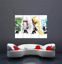 XBOX ONE PS3 PS4 PC GAME CASTLE CRASHERS INDIE GIANT ART PRINT POSTER OZ1165