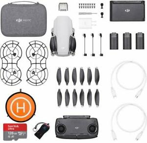 DJI Mavic Mini Fly More combo - Drone with 2.7K Camera  Pro Combo Bundle II