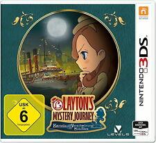 Layton's Mystery Journey: Katrielle und die Verschwörung der Millionäre (New Nintendo 3DS, 2017)