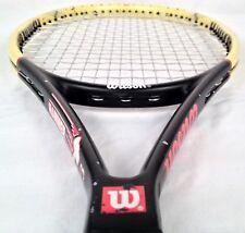 """Wilson Hammer 7.3 Midplus Titanium Tennis Racquet (4 1/2"""" grip) Test Racket"""