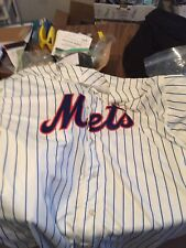 New York Mets Jersey Majestic Cool Base Authentic Collection Size 60 Cream xxxl
