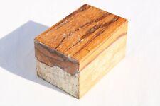 Marblewood Bowl Knife Call Cue Exotic Wood Turning Blank Lumber 2.6 x 2.9 x 4.3