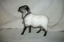 Porcelain/ceramic Sheep - with bell - unknown maker