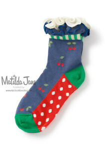 GIRLS MATILDA JANE Brilliant daydream Forward March Socks size M Medium 9-13 NEW