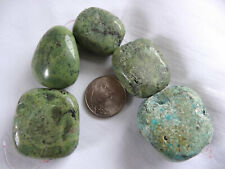 """5 3/4"""" Strand Turquoise Nugget Stone Beads 26-31mm Long A447 DNG"""