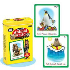 Animal Articulation Photo Flash Cards Fun Deck Super Duper Language Speech ESL