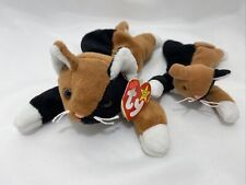1996 Chip the Cat Original Authentic Ty Beanie Babies w/Mini Cat Tag Plush Toy