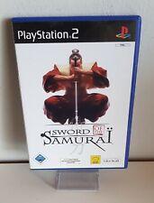 Sword of the SamuraiPlaystation 2 Ps2 OVP+Anleitung A5717