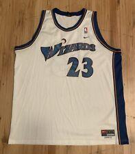 Vintage Nike Washington Wizards Michael Jordan Swingman Jersey Mens 3XL White
