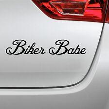 Motorrad Aufkleber Biker Babe fun tuning sticker