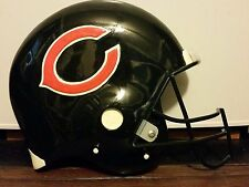 Forever Collectibles Chicago Bears Football Helmet Wall Plaque NWOB Payton Ditka