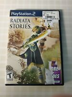 Radiata Stories (Sony PlayStation 2, 2005) CIB GREAT CONDITION