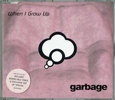 "GARBAGE - 5"" CD - When I Grow Up + R&B Mix.  UK 3 Track CD Mushroom"