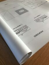 A1 Plans, Architectural Designs, Building Plans, Schematics, Drawings - PRINTED