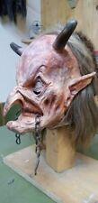 Perchtenmaske Krampusmaske  Maske Perchten Brauchtum Krampus Teufel Teufelmaske