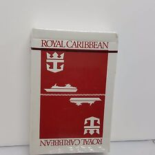 Royal Caribbean Cruise line Playing Cards Sealed Red Deck