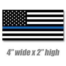 Thin Blue Line Blue Lives Matter Flag Sticker Officer Law Vinyl Decal Police