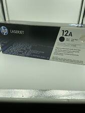 HP Toner LaserJet 12A (Q2612A) Original Black Cartridge New Old Stock