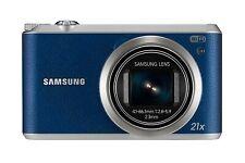 Samsung WB Series WB350F 16.3MP Digital Camera - Blue