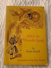 Vintage Alice in Wonderland by Lewis Carroll 1972 Scholastic Paperback
