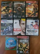 Lot Of 8 PlayStation 2 Games. Shadow The Hedgehog, God Of War Jak 3, Sims +