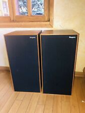 Vintage Rogers Studio 1a Monitor  8 OHMS Matching Speaker Pair Amazing Sound