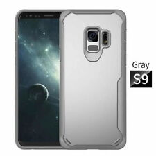 Hybrid Shockproof TPU Clear Back Panel Case Cover For Samsung Galaxy S8 S9 Plus