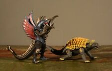 GODZILLA Final Wars: Gigan & Anguirus Figures (2006 TOHO)