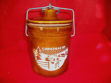 POTTERY MASON JAR WIRE LOCK CLIP LID CLASP CHEESE KEEPER STONEWARE COLLECTIBLES